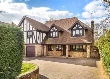Thumbnail 5 bed detached house for sale in Rockfield Road, Oxted, Surrey