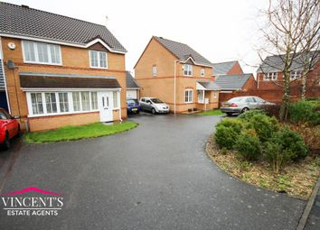 Thumbnail 3 bed detached house for sale in Jewsbury Way, Thorpe Astley, Leicester