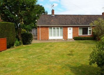 Thumbnail 2 bed semi-detached bungalow for sale in Massingham Road, Weasenham, King's Lynn