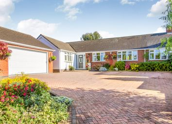 Thumbnail 4 bed detached bungalow for sale in Station Road, Elmesthorpe, Leicester