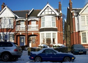 Thumbnail 3 bed flat to rent in Selborne Road, London