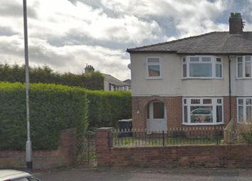 Thumbnail 3 bed semi-detached house to rent in Queens Road, Fulwood, Preston