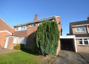 Thumbnail 3 bedroom semi-detached house to rent in Park Hall Road, Wolverhampton