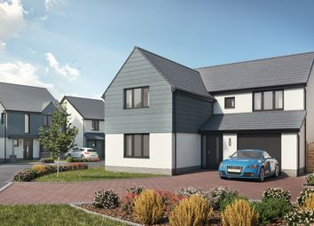 Thumbnail 4 bedroom detached house for sale in Plot 7 The Carew, Caswell, Swansea