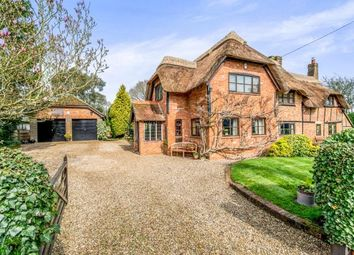 Thumbnail 4 bed detached house for sale in Silchester, Reading, Hampshire