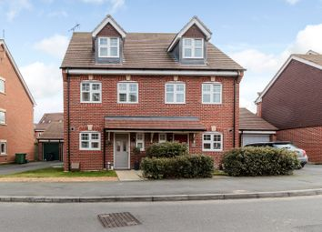 Thumbnail 3 bed semi-detached house for sale in Waterers Way, Bagshot