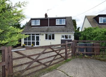 Thumbnail 3 bed detached house for sale in Woolpit Road, Norton, Bury St. Edmunds
