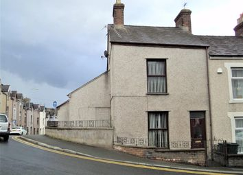 Thumbnail 3 bed end terrace house for sale in Tithebarn Street, Caernarfon