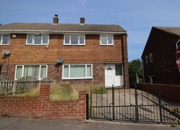 Thumbnail 3 bed semi-detached house to rent in Swanee Road, Barnsley