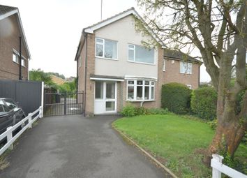 3 bed semi-detached house for sale in Stokes Drive, Leicester LE3