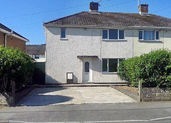 Thumbnail 3 bed semi-detached house for sale in Lougher Place, North Cornelly, Bridgend.