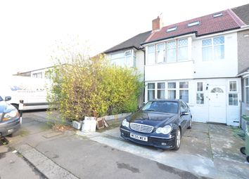 Thumbnail 3 bedroom end terrace house to rent in Woodside End, Wembley, Middeslex