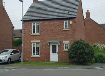Thumbnail 3 bed detached house to rent in Yoxall, Kirkby