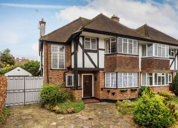 Thumbnail 3 bed semi-detached house for sale in Anne Boleyns Walk, Cheam, Sutton