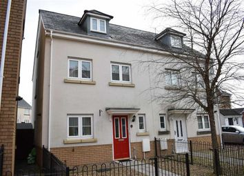 Thumbnail 3 bed town house for sale in Heol Banc Y Felin, Gorseinon, Swansea