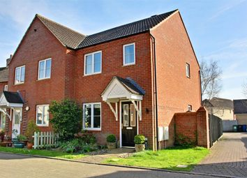 Thumbnail 2 bedroom semi-detached house for sale in Woolthwaite Lane, Lower Cambourne, Cambourne, Cambridge
