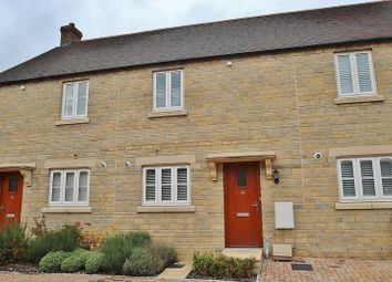 Thumbnail 2 bed terraced house for sale in Carriage Crescent, Buttercross, Witney