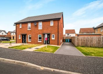 Thumbnail 3 bed semi-detached house for sale in Waddell Crescent, Newmains, Wishaw