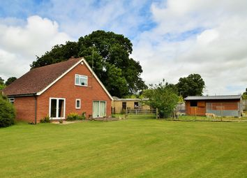 Thumbnail 3 bedroom equestrian property for sale in Woodland St Mary, Lambourn
