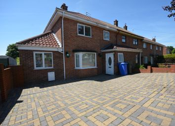 Thumbnail 3 bedroom end terrace house for sale in Oulton Road, Lowestoft
