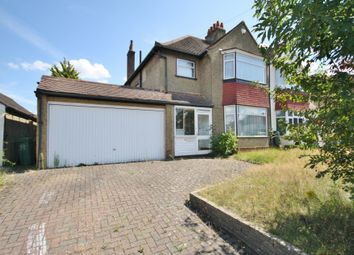 Thumbnail 3 bed semi-detached house to rent in Holland Avenue, Cheam