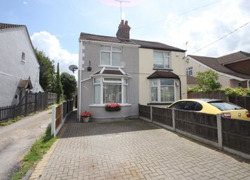 Thumbnail 3 bed semi-detached house for sale in Rectory Road, Hawkwell, Hockley