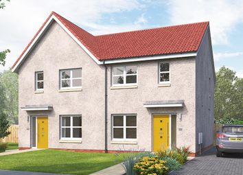 "Thumbnail 3 bedroom semi-detached house for sale in ""The Kilmington"" at West Main Street, Armadale"