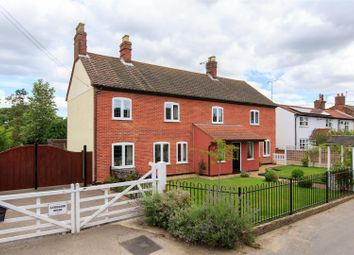 Thumbnail 4 bed farmhouse for sale in Erpingham, Norwich