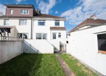 Thumbnail 3 bedroom semi-detached house for sale in Maitland Drive, Plymouth, Devon