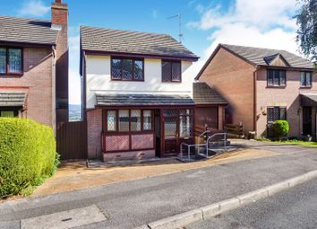 Thumbnail 3 bed detached house for sale in Hawkes Ridge, Cwmbran