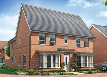 "Thumbnail 4 bed detached house for sale in ""Alnwick"" at Huntingdon Road, Thrapston, Kettering"