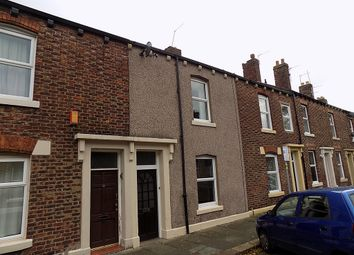 Thumbnail 3 bed terraced house to rent in Garden Street, Carlisle, Cumbria