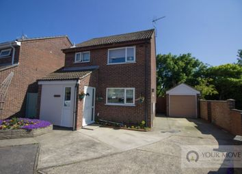 Thumbnail 3 bed detached house for sale in Tudor Walk, Carlton Colville, Lowestoft