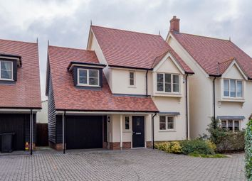 Thumbnail 3 bed detached house for sale in Boxford, Sudbury, Suffolk