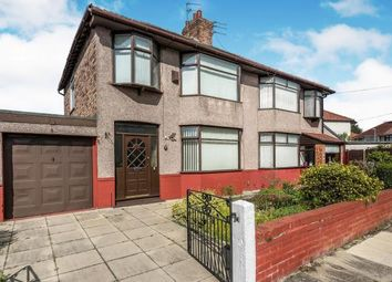 3 bed semi-detached house for sale in Crescent Road, Walton, Liverpool, Merseyside L9