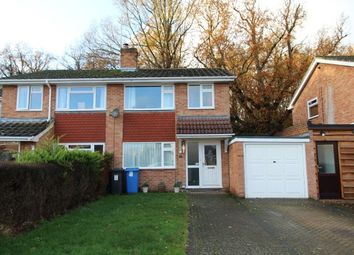Thumbnail 3 bed property to rent in Greenleas Close, Yateley