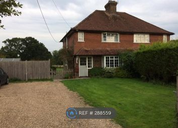 Thumbnail 2 bed semi-detached house to rent in Tismans Common, Horsham
