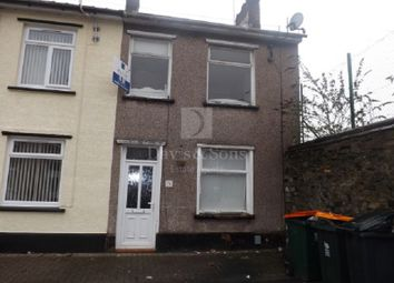 Thumbnail 3 bedroom end terrace house for sale in Gloster Street, Off Caerleon Road, Newport.