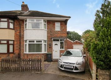 Thumbnail 3 bed semi-detached house for sale in Audon Avenue, Chilwell, Nottingham