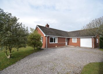 Thumbnail 3 bed detached bungalow for sale in New Hall Lane, Bronington, Whitchurch