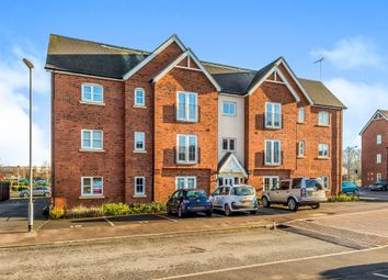 Thumbnail 2 bedroom flat for sale in Chamberlain Close, Uttoxeter
