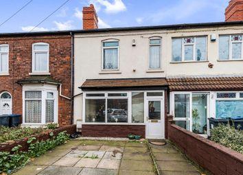 Thumbnail 3 bedroom terraced house for sale in Holyhead Road, Handsworth, Birmingham
