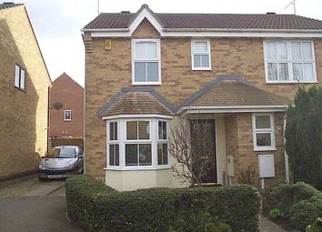Thumbnail 2 bed semi-detached house to rent in Pevensey Close, Rushden
