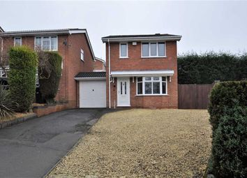 Thumbnail 3 bedroom detached house for sale in Wexford Close, Milking Bank, Dudley