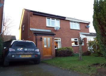 Thumbnail 2 bed semi-detached house to rent in Abbotsford Road, Lichfield