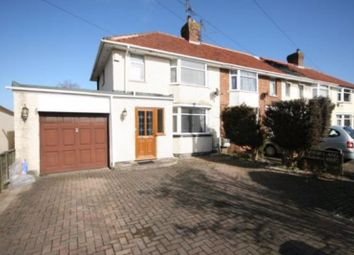 Thumbnail 2 bed end terrace house for sale in Moss Close, Bridgwater