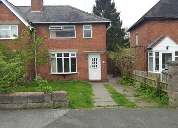 Thumbnail 3 bed semi-detached bungalow to rent in Willows Road, Walsall, West Midlands