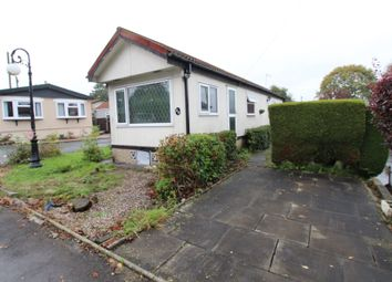Thumbnail 2 bed mobile/park home for sale in Agden Brow, Lymm