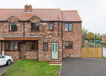Thumbnail 4 bed semi-detached house for sale in West Villas, Bell Lane, Huby