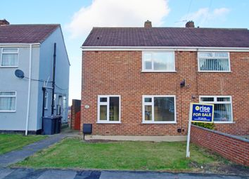 Thumbnail 2 bedroom semi-detached house for sale in Wayside Court, Bearpark, Durham
